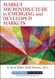 Market Microstructure in Emerging and Developed Markets (1118278445) cover image