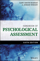 Handbook of Psychological Assessment, 6th Edition (1118960645) cover image