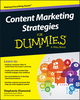 Content Marketing Strategies For Dummies (1119154545) cover image