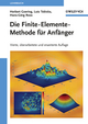 Die Finite-Elemente-Methode für Anfänger, 4th Edition (3527409645) cover image