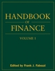 Handbook of Finance, Volume 1, Financial Markets and Instruments (0470078146) cover image