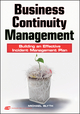Business Continuity Management: Building an Effective Incident Management Plan (0470430346) cover image
