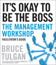 It's Okay to Be the Boss Deluxe Facilitator's Guide Set (0470620846) cover image