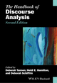 The Handbook of Discourse Analysis, 2nd Edition (0470670746) cover image