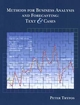 Methods for Business Analysis and Forecasting: Text and Cases (0471123846) cover image