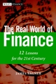 The Real World of Finance: 12 Lessons for the 21st Century (0471283746) cover image