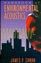 Handbook of Environmental Acoustics (0471285846) cover image