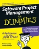 Software Project Management For Dummies (0471749346) cover image