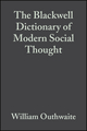 The Blackwell Dictionary of Modern Social Thought, 2nd Edition (0631221646) cover image