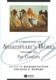 A Companion to Shakespeare's Works, Volume III: The Comedies (0631226346) cover image