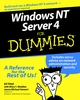 Windows NT Server 4 For Dummies  (0764505246) cover image