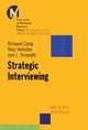 Strategic Interviewing: How to Hire Good People (0787953946) cover image