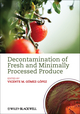 Decontamination of Fresh and Minimally Processed Produce (0813823846) cover image