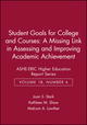 Student Goals for College and Courses: A Missing Link in Assessing and Improving Academic Achievement: ASHE-ERIC Higher Education Report Series, Volume 18, Number 6 (0962388246) cover image