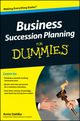 Business Succession Planning For Dummies (1118095146) cover image