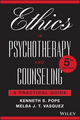 Ethics in Psychotherapy and Counseling: A Practical Guide, 5th Edition (1119195446) cover image