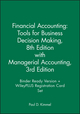 Financial Accounting: Tools for Business Decision Making, 8e with Managerial Accounting, 3e Binder Ready Version + WileyPLUS Registration Card Set (1119442346) cover image