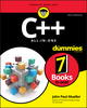 C++ All In One For Dummies, 4th Edition (1119601746) cover image