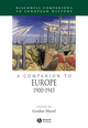 A Companion to Europe 1900 - 1945 (1405106646) cover image