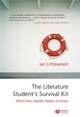 The Literature Student's Survival Kit: What Every Reader Needs to Know (1405122846) cover image