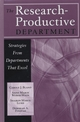 The Research-Productive Department: Strategies from Departments That Excel (1882982746) cover image