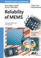 Reliability of MEMS: Testing of Materials and Devices (3527314946) cover image