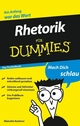 Rhetorik für Dummies Das Pocketbuch (3527637346) cover image