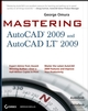 Mastering AutoCAD 2009 and AutoCAD LT 2009 (0470287047) cover image
