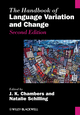 The Handbook of Language Variation and Change, 2nd Edition (0470659947) cover image