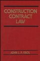 Construction Contract Law (0471574147) cover image