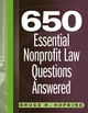 650 Essential Nonprofit Law Questions Answered  (0471715247) cover image