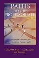 Paths to the Professoriate: Strategies for Enriching the Preparation of Future Faculty (0787966347) cover image