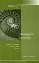 Managing for Innovation: New Directions for Higher Education, Number 137 (0787997447) cover image