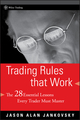 Trading Rules that Work: The 28 Essential Lessons Every Trader Must Master (1118046447) cover image