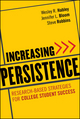 Increasing Persistence: Research-based Strategies for College Student Success (1118234847) cover image
