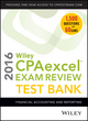 Wiley CPAexcel Exam Review 2016 Test Bank: Financial Accounting and Reporting (1119120047) cover image