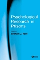 Psychological Research in Prisons (1405133147) cover image