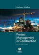 Project Management in Construction, 5th Edition (1405158247) cover image