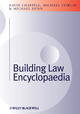 Building Law Encyclopaedia (1405187247) cover image