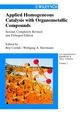 Applied Homogeneous Catalysis with Organometallic Compounds: A Comprehensive Handbook in Three Volumes, 2nd, Completely Revised and Enlarged Edition (3527304347) cover image