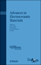 Advances in Electroceramic Materials: Ceramic Transactions, Volume 204 (0470408448) cover image