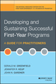 Developing and Sustaining Successful First-Year Programs: A Guide for Practitioners (0470603348) cover image