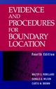 Evidence and Procedures for Boundary Location, 4th Edition (0471267848) cover image