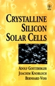 Crystalline Silicon Solar Cells (0471971448) cover image