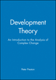 Development Theory: An Introduction to the Analysis of Complex Change (0631195548) cover image