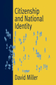 Citizenship and National Identity (0745623948) cover image