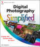 Digital Photography Simplified, 2nd Edition (1118029348) cover image