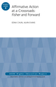 Affirmative Action at a Crossroads: Fisher and Forward: ASHE Higher Education Report, Volume 41, Number 4 (1119124948) cover image