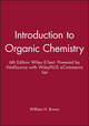 Introduction to Organic Chemistry, 6e Wiley E-Text: Powered by VitalSource with WileyPLUS eCommerce Set (1119367948) cover image