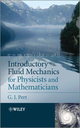 Introductory Fluid Mechanics for Physicists and Mathematicians (1119944848) cover image